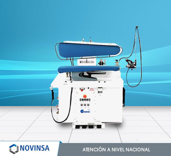 Plancha prensa industrial novinsa comercial lavander a for Plancha industrial