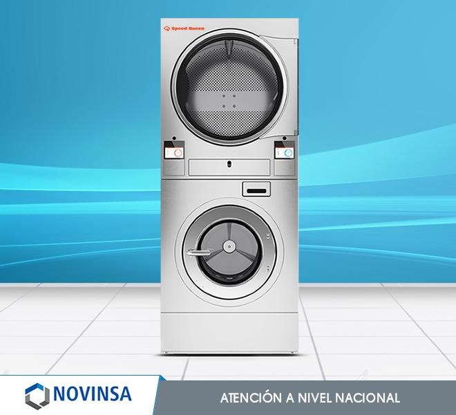 Combo Industrial: lavadora+secadora de 23Kg